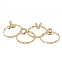 Stackble LOVE ring