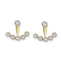 Pendientes Jackets perlas