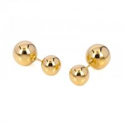African ball earrings