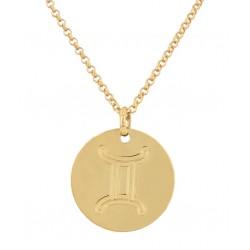 Gemini zodiac pendant
