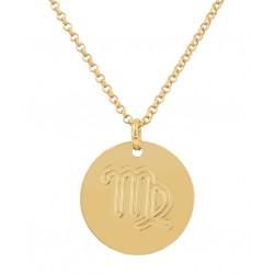 Virgo zodiac pendant
