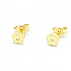 Mini flower earrings 5 petals